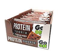 Упаковка протеинового печенья Go On Nutrition Protein Cookie Шоколадный брауни 12 шт х 50 г