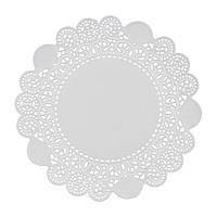 Салфетка ажурная Ø11,5см, (4,5*) 100 шт/уп (40уп/ящ) круглая