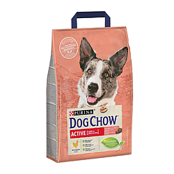 Корм Dog Chow Active Дог Чау Актив для активних собак 2,5 кг