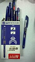 """Ручка гелева """"Пиши-стирай """"JO"""" /GP-3176-BL/ (зникає від темп.), гольч. синя, 0,38мм."""