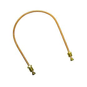 Трубка запальника автоматики для газового котла Honeywell L-400 мм, D-4 мм, М10х1-М10х1
