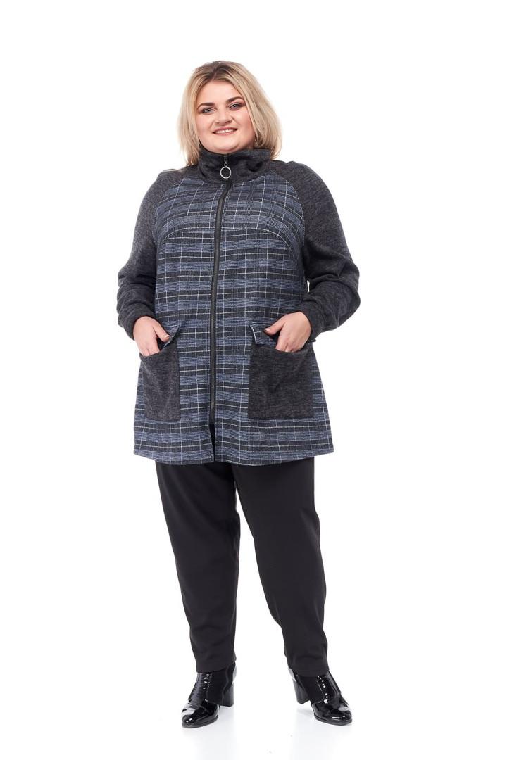 Кардиган женский большие размеры от 66 до 76