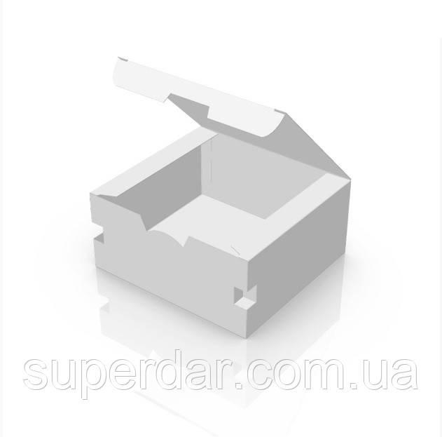 Упаковка 130х120х60 мм для наггетсов  Белая (ящ.: 500 шт)