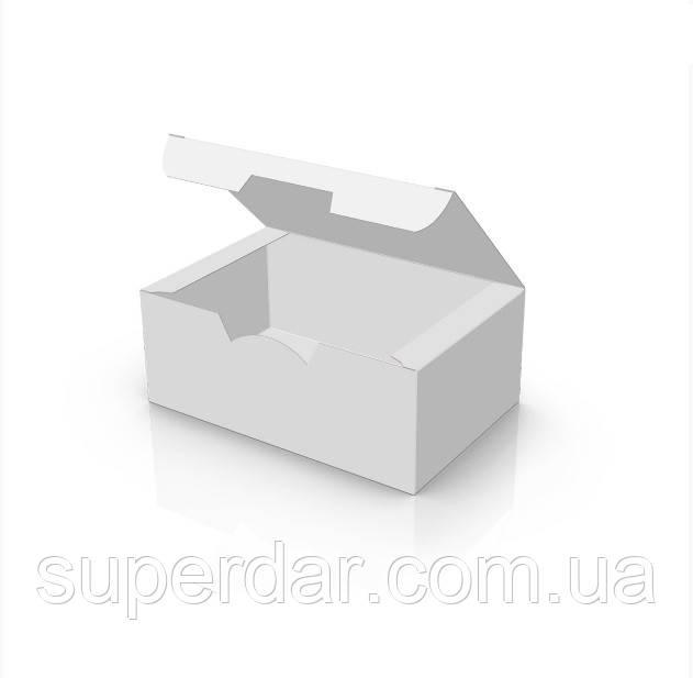 Упаковка 115x75x45 мм для наггетсов  Белая (ящ.: 1000 шт)
