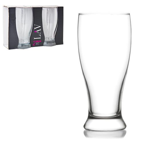 Набір бокалів для пива 2 шт. Бротто 565мл
