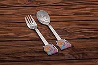Детская посуда с гравировкой именная