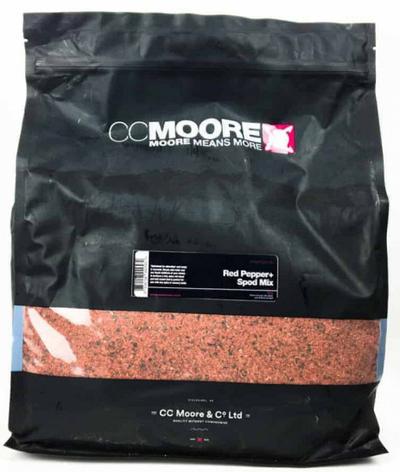 Прикормочная смесь CC Moore Red Pepper Spod Mix 1кг, фото 2