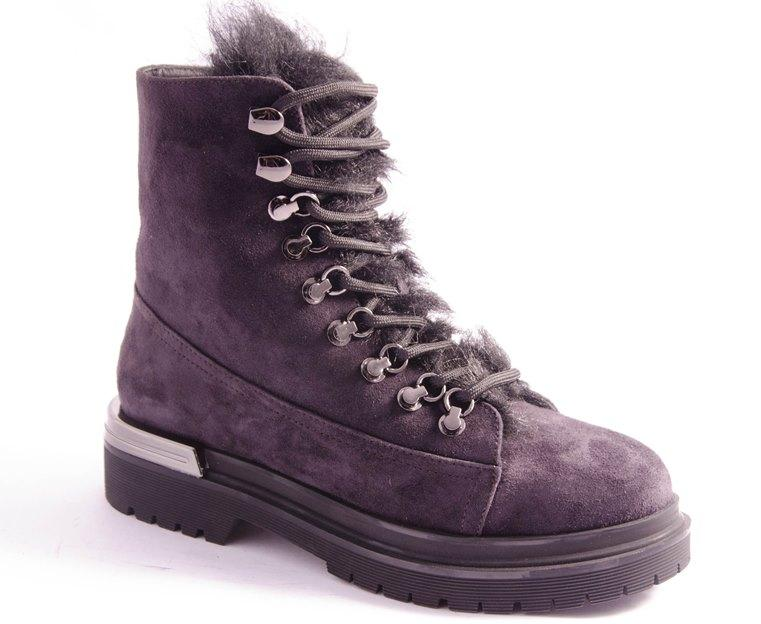 Ботинки женские серые Vlad XL 1990X-W0603R