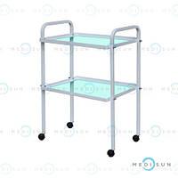 Инструментальный медицинский столик передвижной на колесах СИ-5 Завет