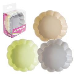 Набір форм для випічки кексів 7,5*2,2 см Пастель