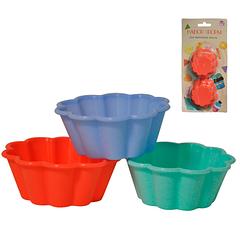 Набір форм для випічки кексів 6шт. 7,5*7,5*3 см