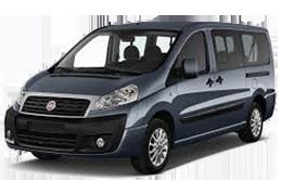 Подкрылки для Fiat (Фиат) Scudo 2 2007-2016