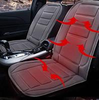 Накидка на автомобильное кресло с подогревом от прикуривателя
