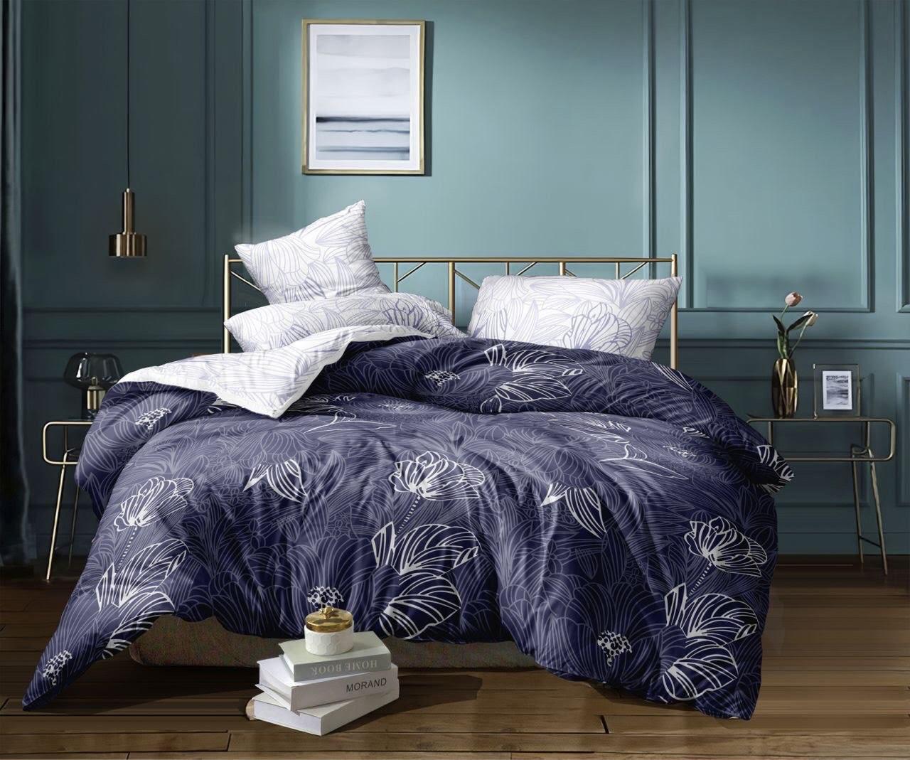 Комплект постельного белья семейка, серое