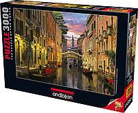 Пазлы Венеция в сумерках на 3000 элементов