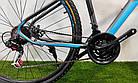 """Горный велосипед 29"""" Azimut Gemini D серый, фото 4"""