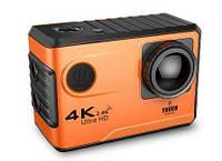 Action Camera F100B Tach WiFi 4K сенсорный экран аккумулятор 1050 mAh с Bluetooth водонепроницаемая