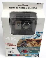 Экшн камера Action Camera WiFi 4K F-60С Водонепроницаемая Режим видеорегистратора 16M