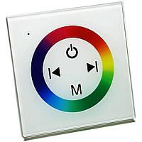 Сенсорная панель-контроллер Biom RGB 12А 144W 12V 12А-Touch 719