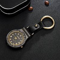 USB запальничка з годинником і ліхтариком (брелок) Чорний, фото 1