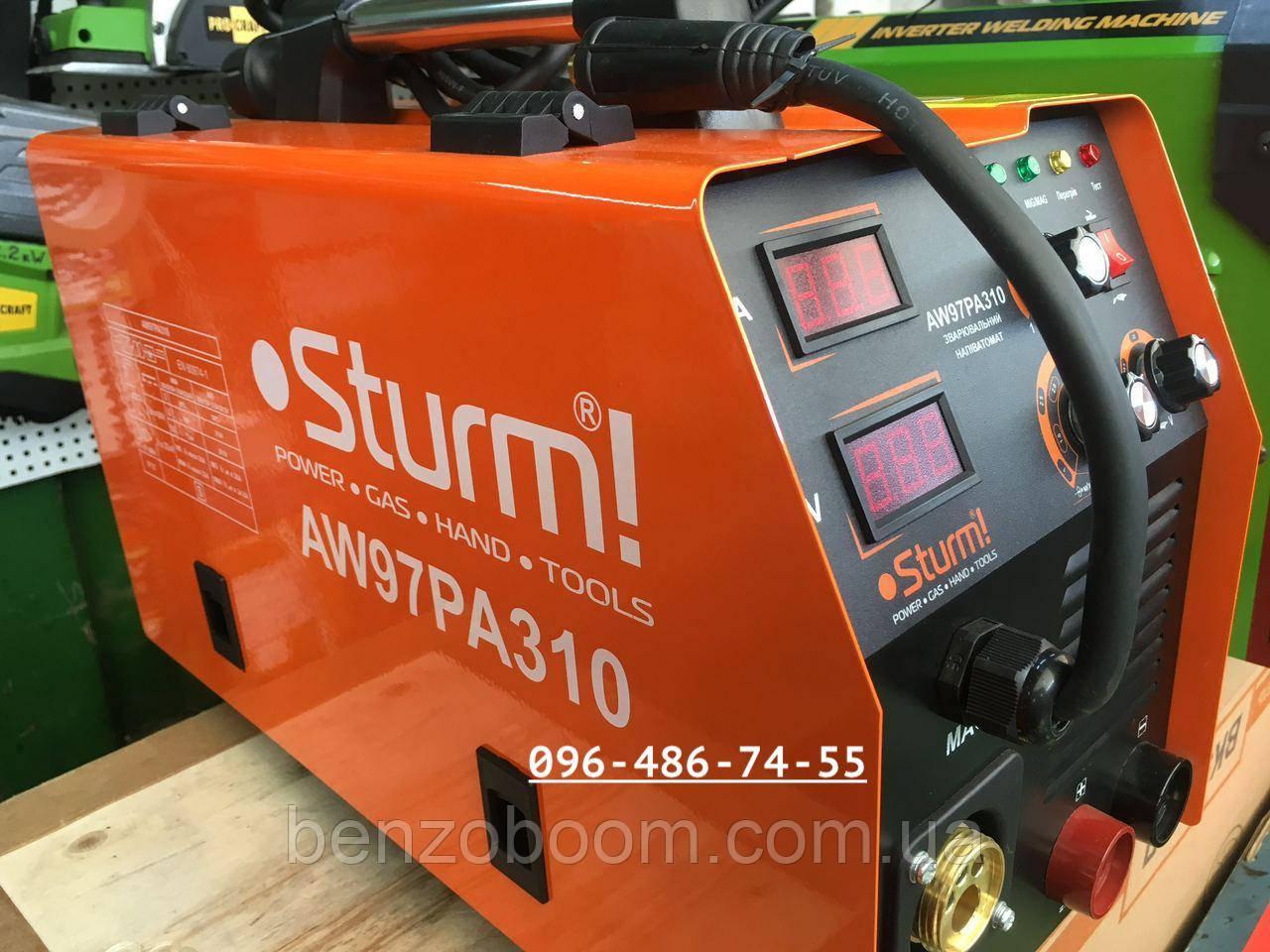 Сварочный полуавтомат Sturm AW97PA310P MIG/MMA