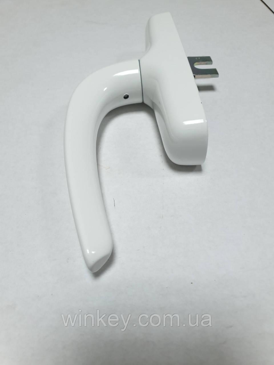 Ручка оконная FAPIM NEFER Midi 0757Ві белая для алюминиевых окон