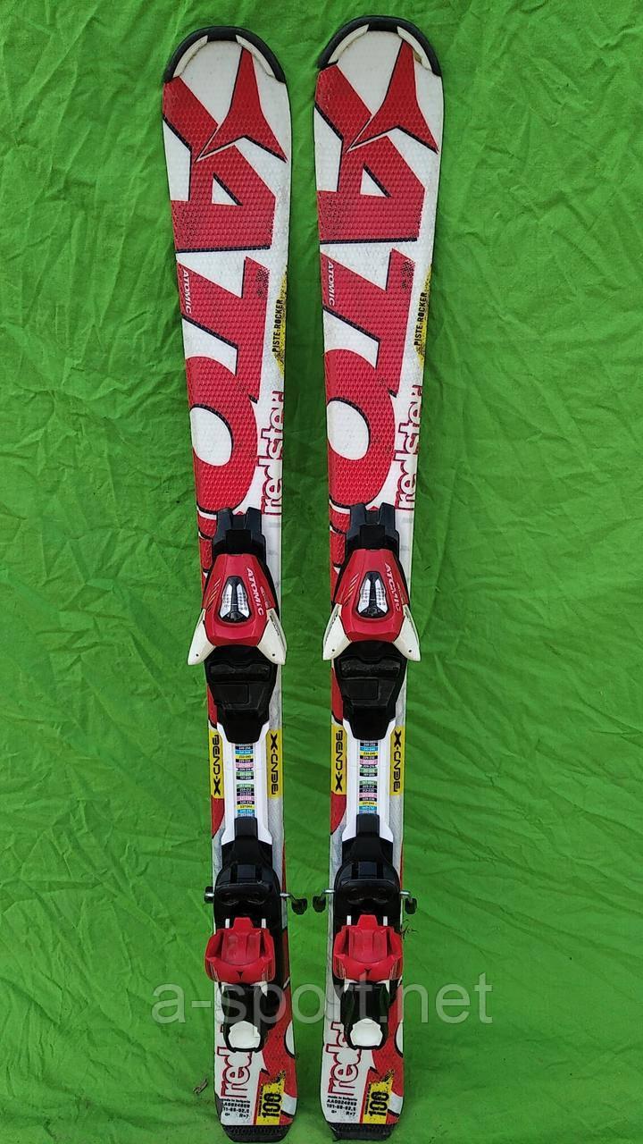 Гірські лижі бу Atomic Redster  XT 100 см  для карвінгу, 2015p
