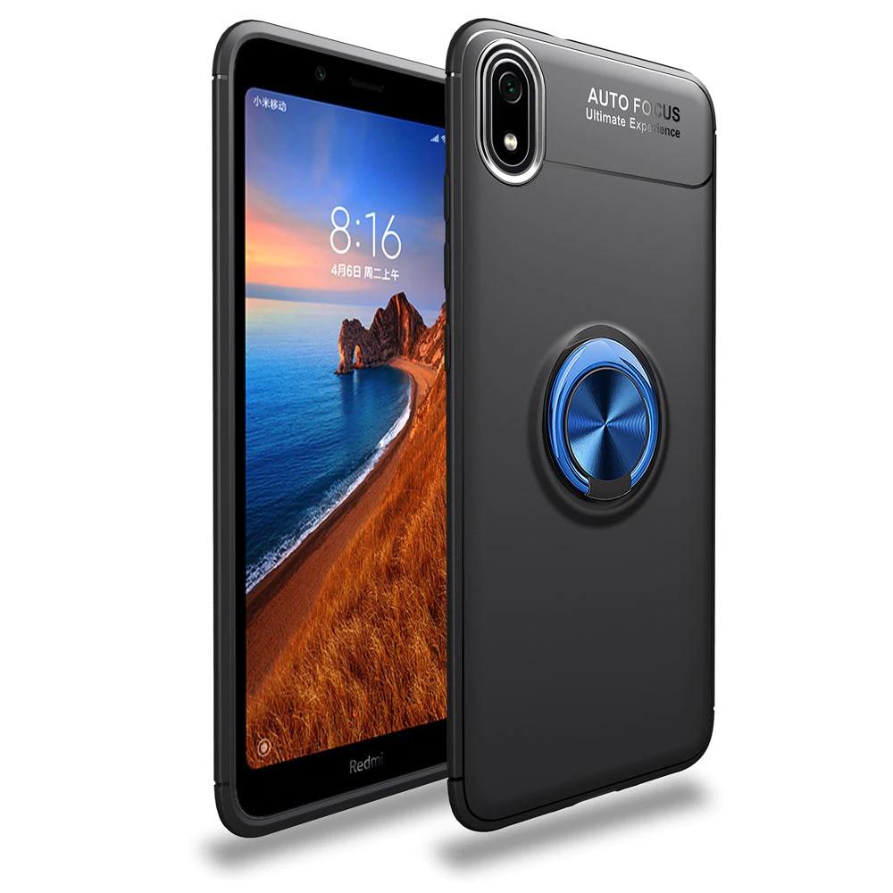 Чехол Fiji Hold для Xiaomi Redmi 7A бампер накладка с подставкой Black-Blue