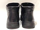 46,47 р. Мужские кожаные зимние сапоги (Больших размеров) Черные, фото 9