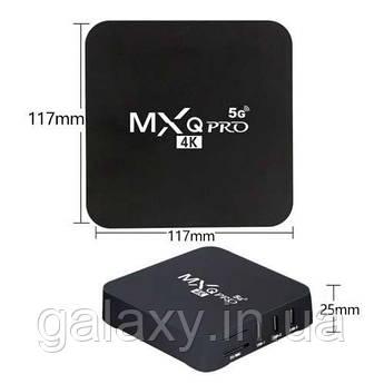 Тв приставка смарт MXQ 4K 5G  Android 1/8 TV Box
