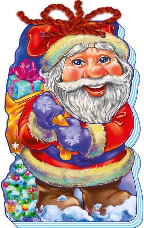 """Книжечка-шнурівка """"Дід Мороз"""" м'яка М554005У"""