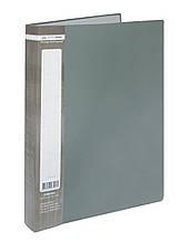 Папка з 10 файлами А4 JOBMAX, сірий