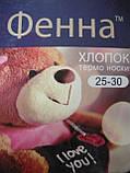 """Дитячі махрові термо шкарпетки """"Фенна"""". р. 25-30. Хлопчик, фото 6"""