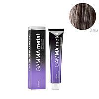 Стойкая крем-краска для волос Erayba Gamma Metal ABM Ash Brown Metallic 100 мл