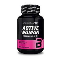 Витамины и минералы BioTech Active Woman 60 таб