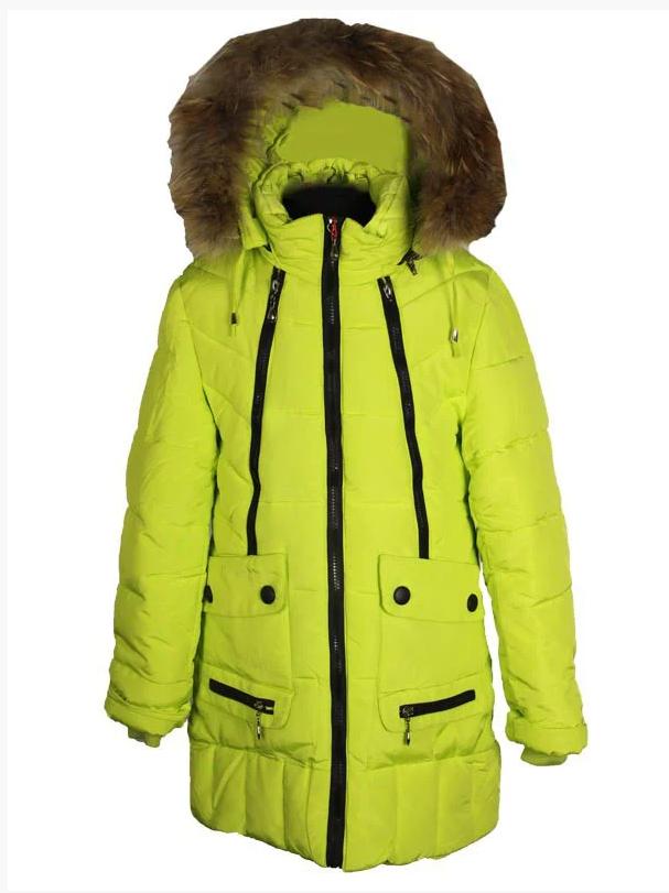 зимнее пальто парка для девочки