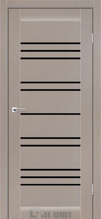 Двери Darumi VERSAL Серый краст BLK