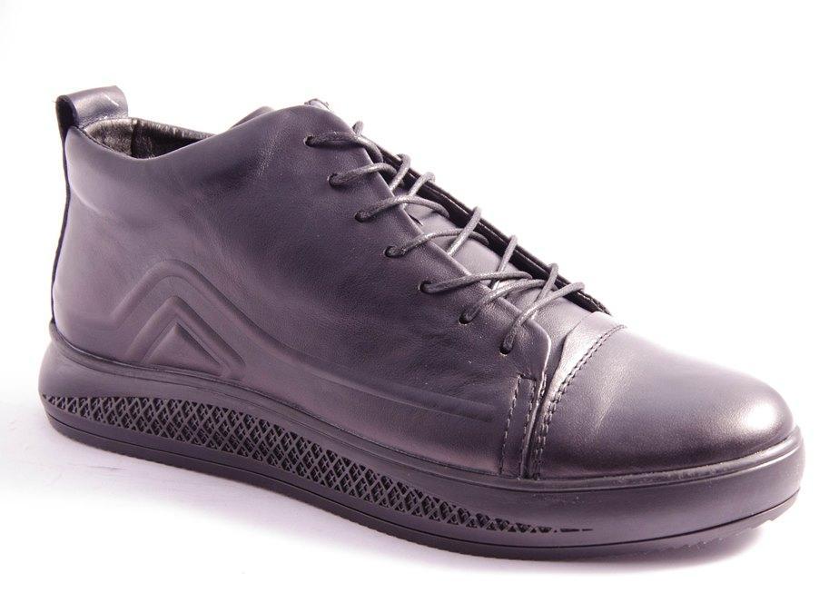 Ботинки мужские черные Vortex 823