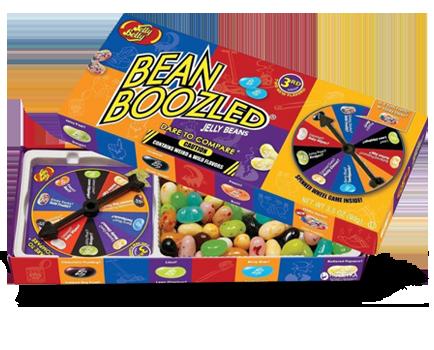 Конфеты драже Jelly Belly Bean Boozled Рулетка Гадкие бобы 99 г