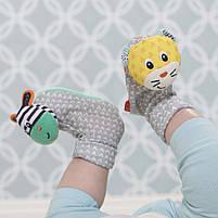 Шкарпетки брязкальця Infantino зебра і тигр (206893I), фото 3