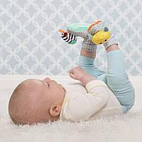 Шкарпетки брязкальця Infantino зебра і тигр (206893I), фото 4
