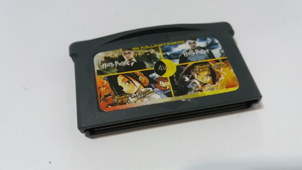Ігровий картридж для GAME BOY ADVANCE 4\1 Гаррі Поттер 1,2+Shaman King 1,2