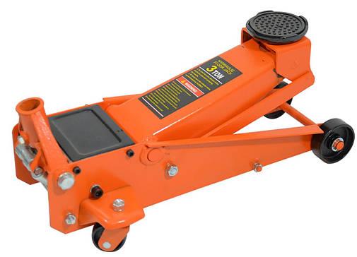 Домкрат швидкий підкатний підлоговий 3т Siker (60000012), фото 2