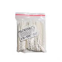 660x Резистор SMD 0805 1/8Вт 1% 1Ом-1МОм, набор