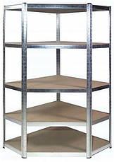 Стеллаж угловой металлический Siker CGS40(40810113), фото 2