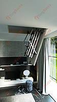 Лестница на чердак 80x60 Easywood ECO Metal (265 см)