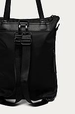 Чёрная сумка с функцией рюкзака Medicine, фото 3