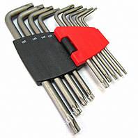 Набор ключей Torx Г-обр. 9 пр. (Т10-Т50) 5098 F