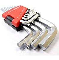 Набор ключей 6-гр. (HEX) Г-обр. 11 пр. (1.5-12 мм) 5116 F