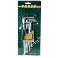 Набор ключей 6-гр. (HEX) Г-обр. длинных 10 пр. (1.27-10 мм) 5102L F